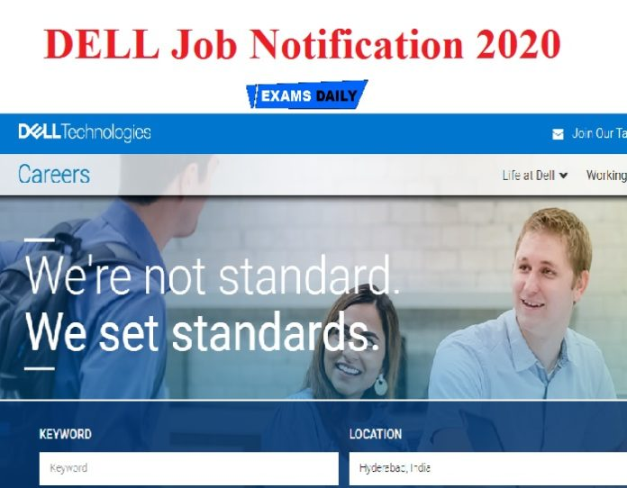 DELL Job Notification 2020