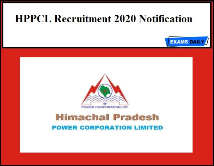 HPPCL Recruitment 2020 Notification