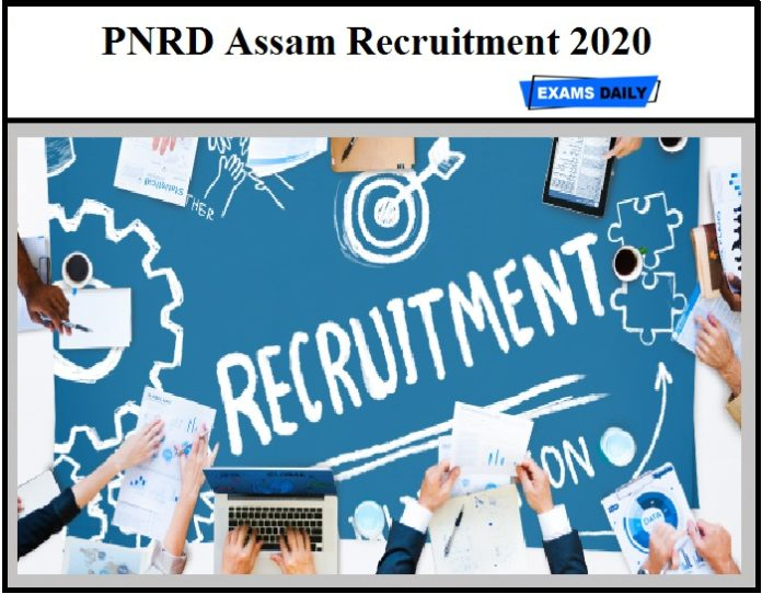 PNRD Assam Recruitment 2020 OUT – Apply for 1004 Junior Assistant & Other Vacancies