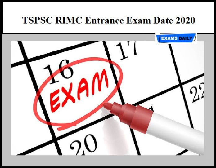 TSPSC RIMC Entrance Exam Date 2020 Released – Download Here