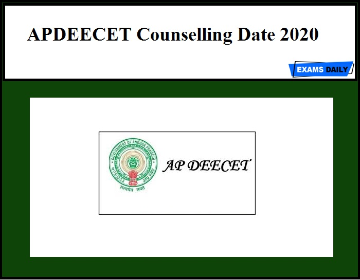 APDEECET Counselling Date 2020