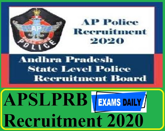 APSLPRB Recruitment 2020 Out – Apply for Programmer Post Here!!!