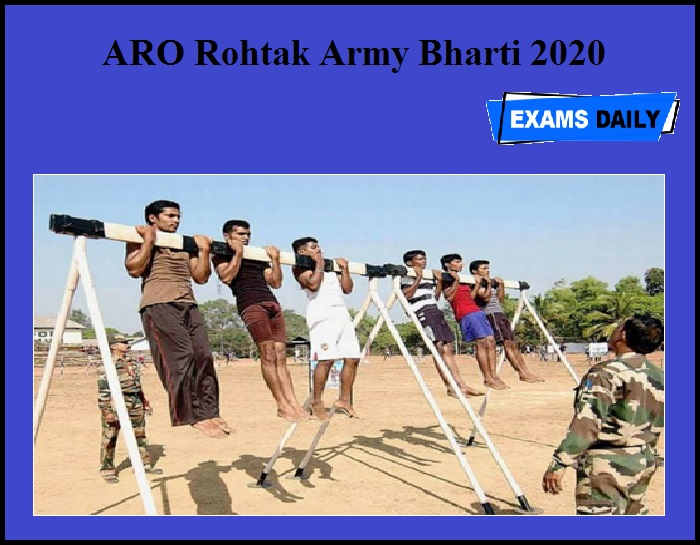 ARO Rohtak Army Bharti 2020 OUT