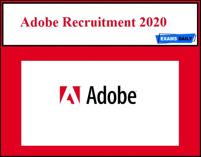 Adobe Recruitment 2020