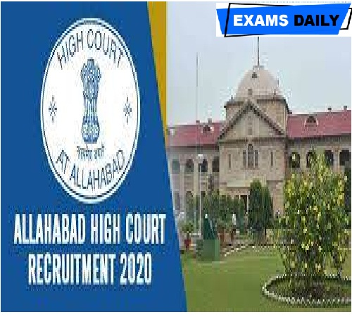 Allahabad High Court Recruitment 2020 Out – Apply for advocates Posts Here!!!!