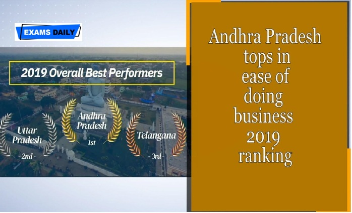 Andhra Pradesh retains top in ease of doing business 2019 rankings