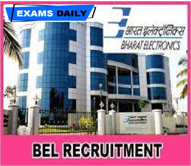 BEL Recruitment 2020 Out – Apply for Havildar (Security)