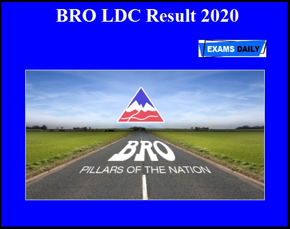 BRO LDC Result 2020 OUT