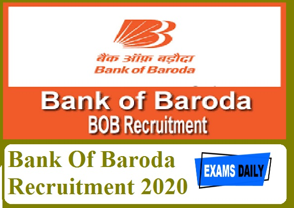 Bank Of Baroda Recruitment 2020 Out – Apply Online for Mobile Banking Department