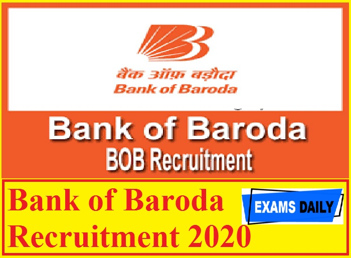 Bank of Baroda Recruitment 2020 Out – Apply Online for Chief Executive Officer-PSB Alliance Here!!!