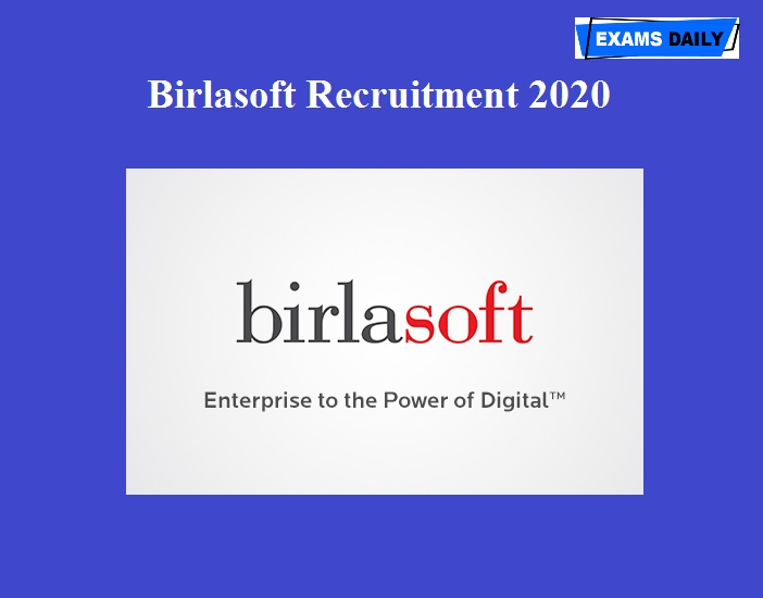 Birlasoft Recruitment 2020