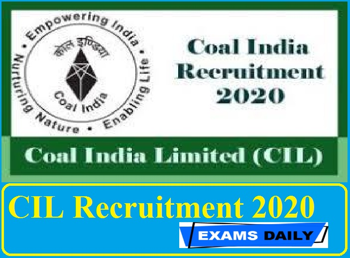CIL Recruitment 2020 Out – Apply Online for Director (Finance) Posts Here!!!