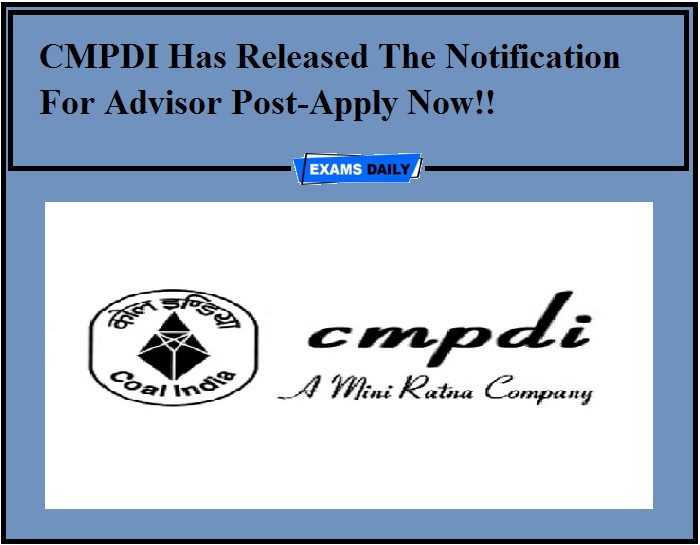 CMPDI Recruitment 2020 OUT -Apply Now!!