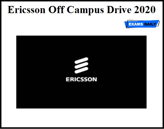 Ericsson Off Campus Drive 2020 OUT