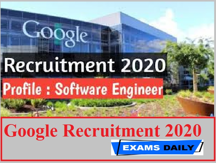 Google Recruitment 2020 Out – Apply for Software Engineer, iOS Mobile Apps & Application Engineer, Corporate Engineering Post