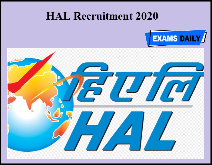 HAL Recruitment 2020 OUT