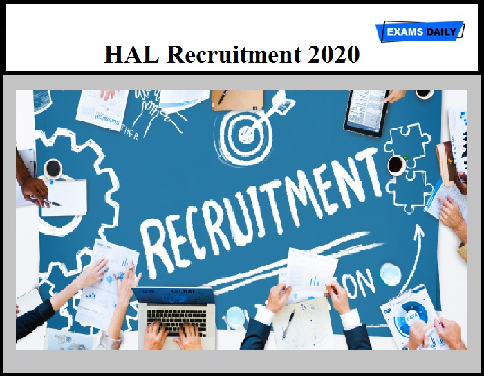 HAL Recruitment 2020 Out – Download Application Form Here