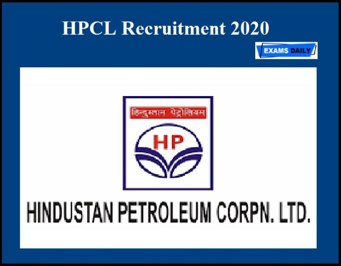 HPCL Recruitment 2020 OUT