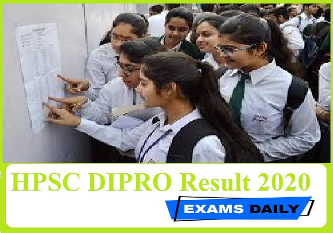 HPSC DIPRO Result 2020 Out – Download class II (Group-B) Here!!!