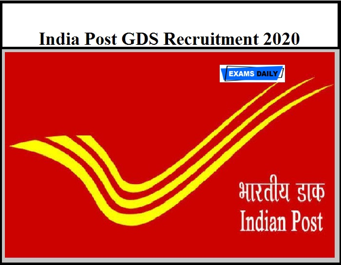 India Post GDS Recruitment 2020 OUT – Apply Online for 2060 Vacancies