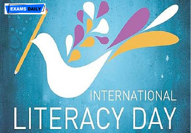 International Literacy Day being celebrated on September 08