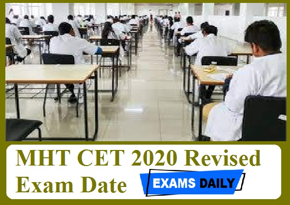 MHT CET 2020 Revised Exam Date Out – Download Technical Education Department For Academic Year 2020 He