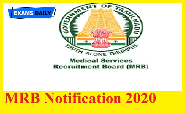 MRB Notification 2020