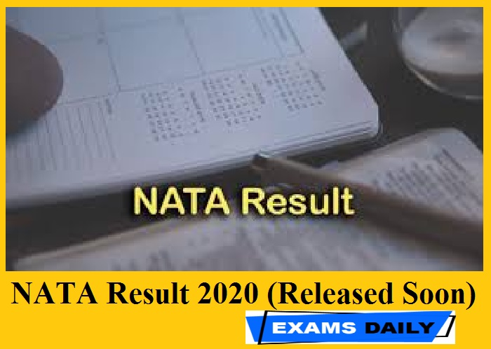 NATA Result 2020 (Released Soon)
