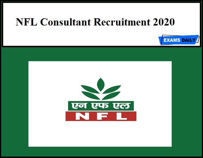 NFL Consultant Recruitment 2020