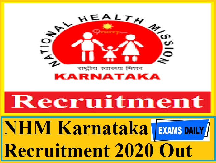 NHM Karnataka Recruitment 2020 Out – Apply for Programme Manager & Other Vacancies
