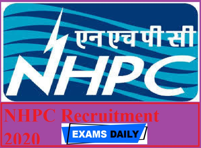 NHPC Recruitment 2020 Out – Apply for Trade Apprentices Posts