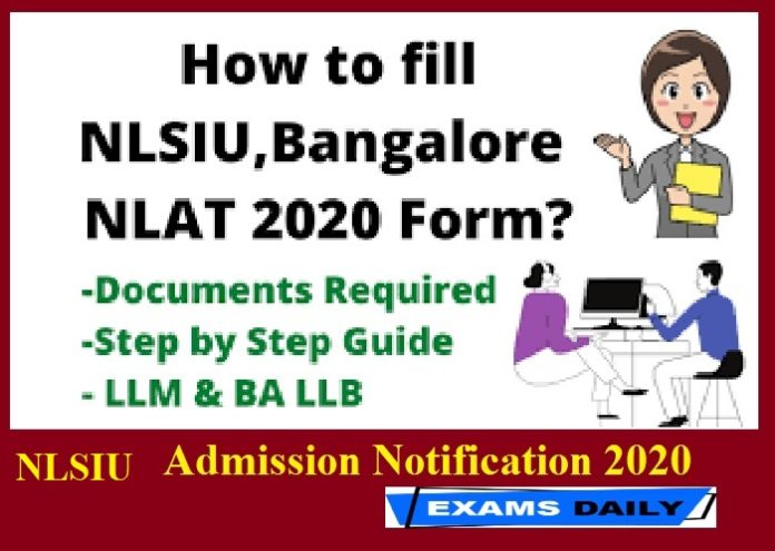 NLSIU Admission Notification 2020 Out – Apply Online Starts Today || Check Exam Date Here