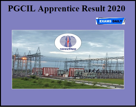 PGCIL Apprentice Result 2020 OUT