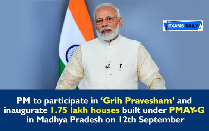 PM Modi to participate in 'Grih Pravesham' under Pradhan Mantri Awaas Yojana via video conference