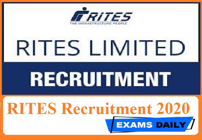 RITES Recruitment 2020 Out – Apply for Diesel (Mechanical Fitters) & Others Here!!!