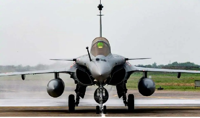 Rafale fighter jets formally inducted into the Indian Air Force at IAF's Ambala air base