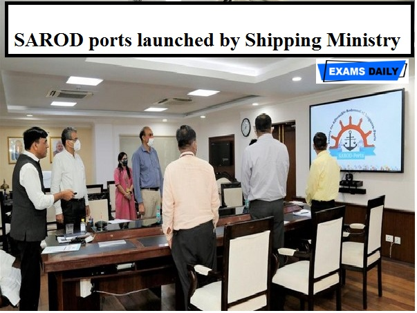 SAROD ports launched by Shipping Ministry to resolve disputes