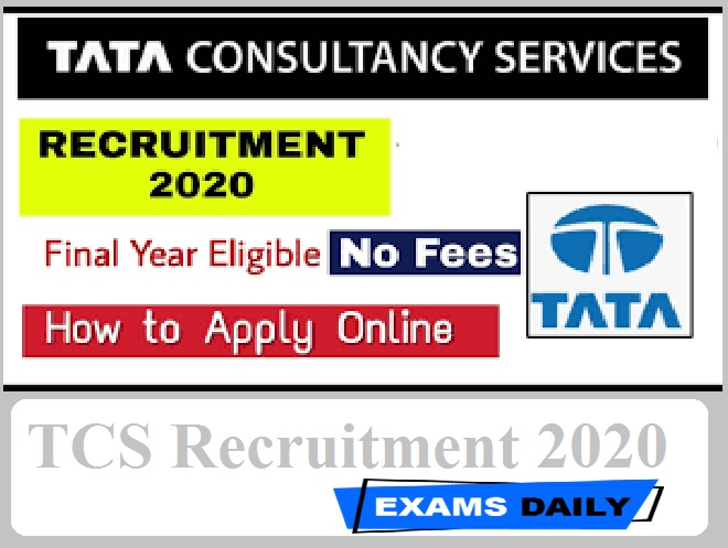 TCS Recruitment 2020 Out – Apply Online for Developer Post Here