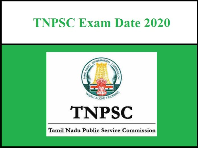 TNPSC Exam Date 2020 Released - Check Official Notice