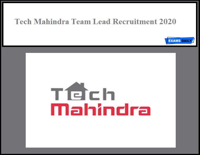 Tech Mahindra Recruitment 2020 Out Apply Online No Exam Hindi Examsdaily