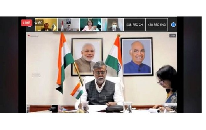 Union Culture and Tourism Minister Prahlad Singh Patel participates in the 17th SCO Meeting
