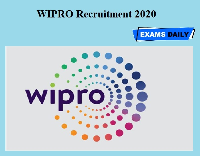 WIPRO Recruitment 2020 OUT
