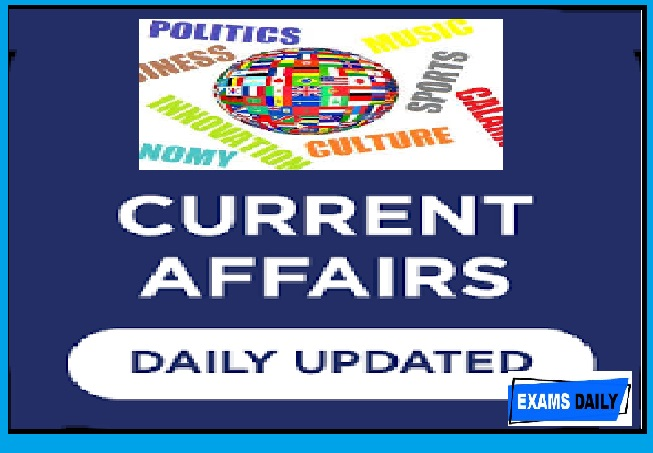 4th September 2020 Current Affairs