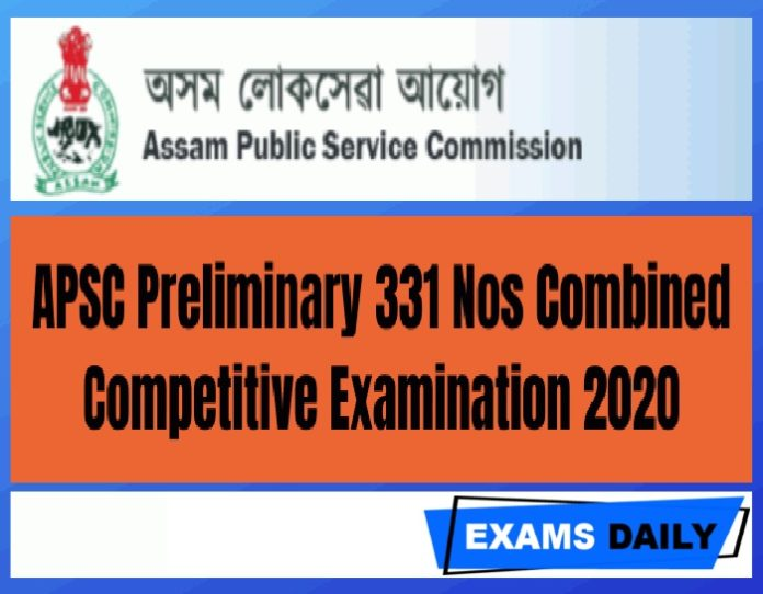 APSC CCE Recruitment 2020 Out – Last Date Extended for Apply Online Here!!!!