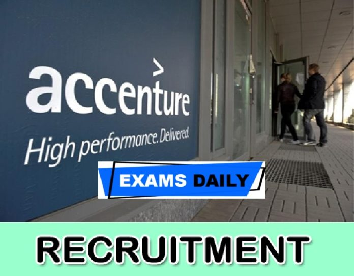 Accenture Recruitment 2020 Out – Apply Online for Sales force Sales Cloud Application Developer Posts Here!!!