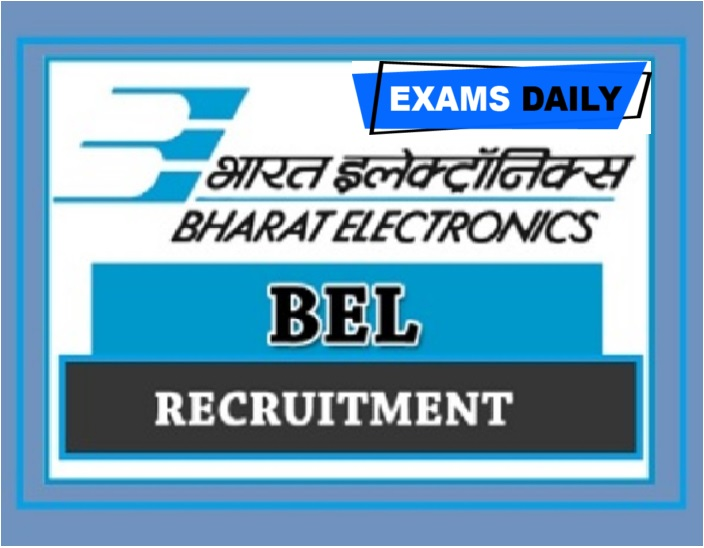 BEL Recruitment 2020 Out – Last Date for Apply Online for Project Engineer – I & Others Here!!!