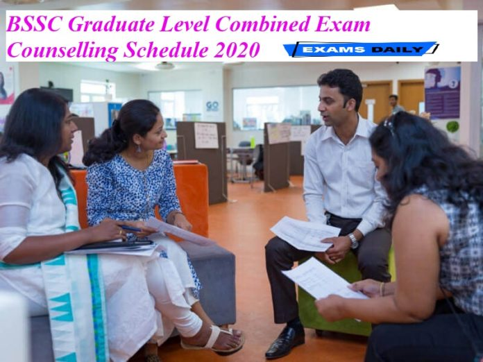 BSSC Graduate Level Combined Exam Counselling Schedule 2020 Out – Download Competitive (Mains) Date Here!!!