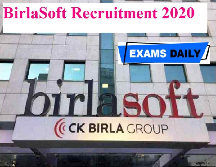 BirlaSoft Recruitment 2020 Out – Apply Online for AWS Lead - (105021) & Others Here!!!