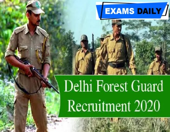 Delhi Forest Recruitment 2020 Out – Apply for Assistant Conservator post Here!!!