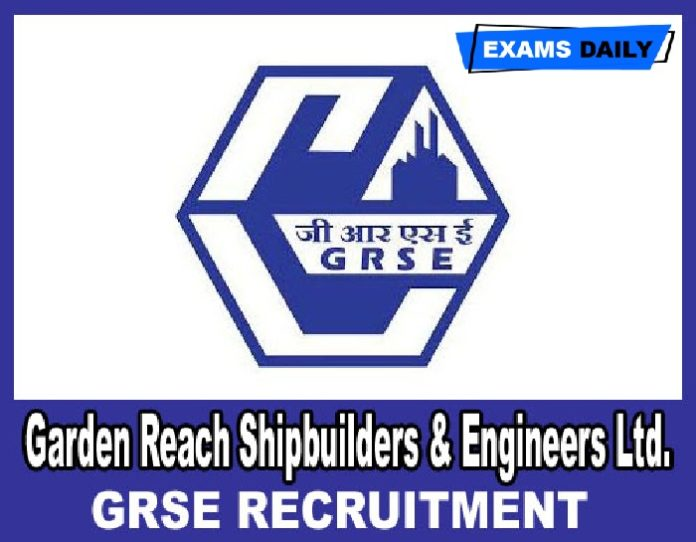 GRSE Recruitment 2020 Out – Apply Online for Deputy General Manager & Others Here!!!